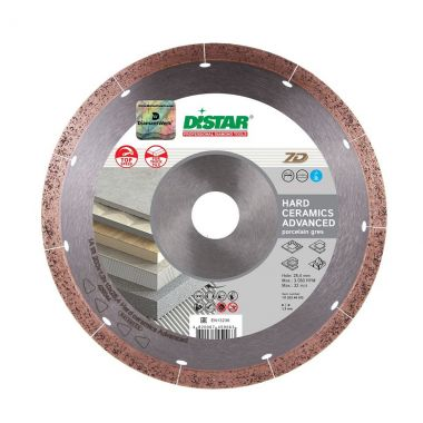 Круг алмазный 1A1R 350x1,8x10x25,4 Hard ceramics Advanced DISTAR 11120049015 ― DISTAR